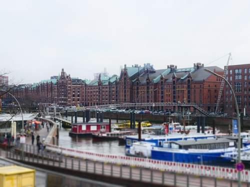 Speicherstadt im Miniatur Wunderland Hamburg