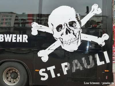 FC St. Pauli Mannschaftsbus